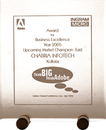 Adobe Channel Conference 2006 Business Excellence Upcoming Market Champion (East)