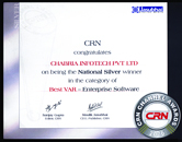 CRN Channel Awards 2006 National Silver Winner Best VAR - Enterprise Software (East)